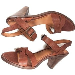 Trask Summer NWOT Crafted Leather Sandals